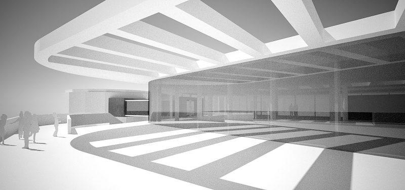 Architekt Ladwig Kreuzfahrtterminal Kiel