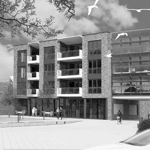 Architekt Ladwig, Neubau-Seniorenwohnanlage Bordesholm