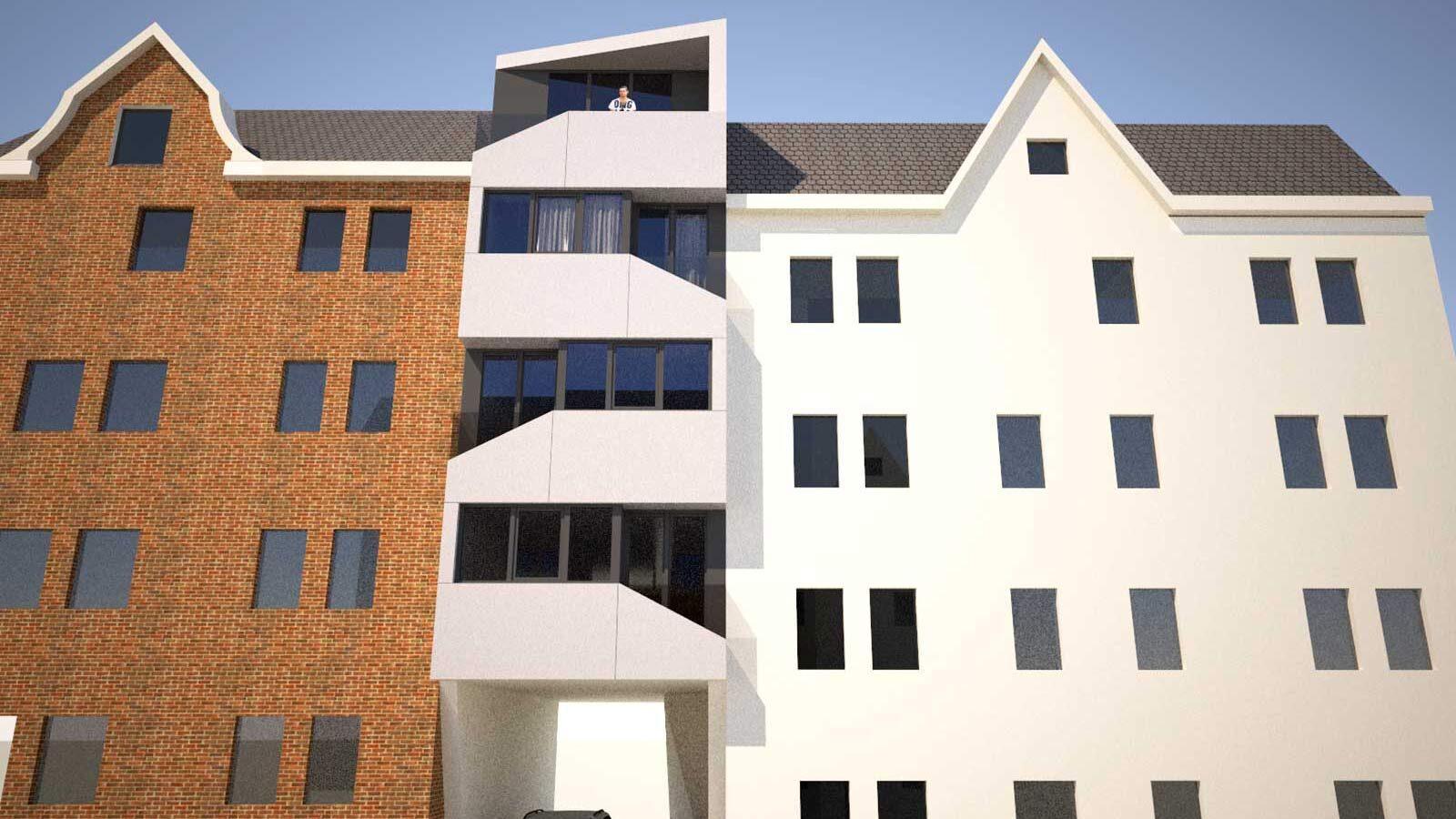 Architekt Ladwig, Baulücke Kiel